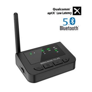 BANIGIPA Bluetooth Audio Transmitter Adapter for Nintendo