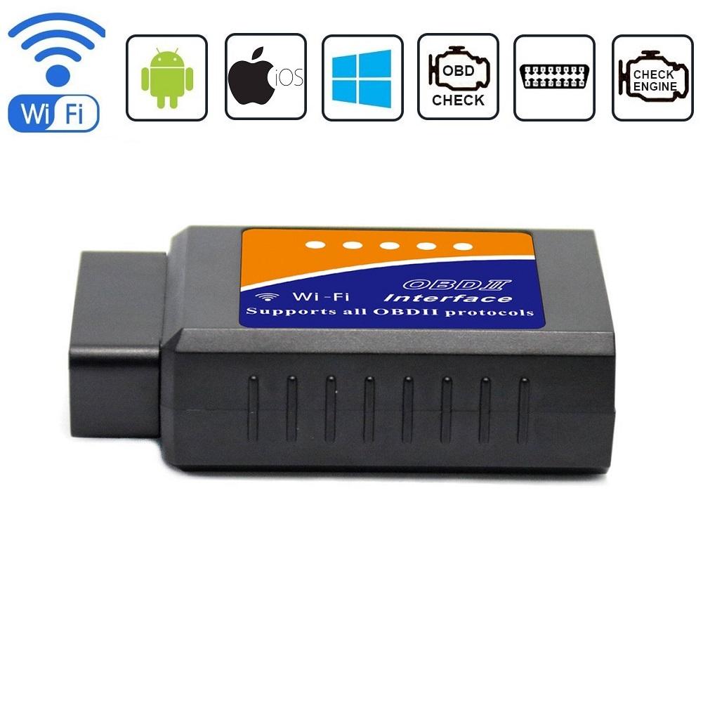 WiFi OBD2 OBDII Car Diagnostic Scan Code Reader  Auto Scanner Tool